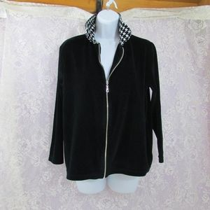 Jason Maxwell Petite PL Full Zip Sweater Coat